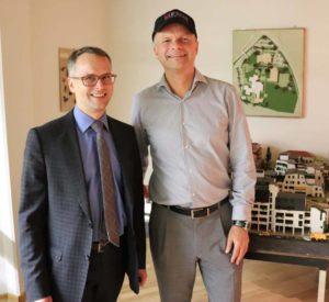 Christoph Landgraf und Volker Feyerabend