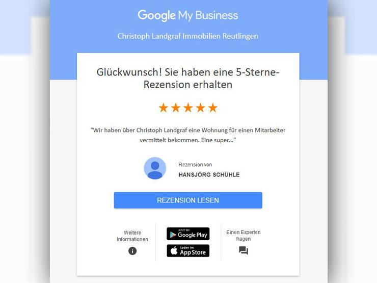 Wir freuen uns über die Rezension von der OS Schühle GmbH
