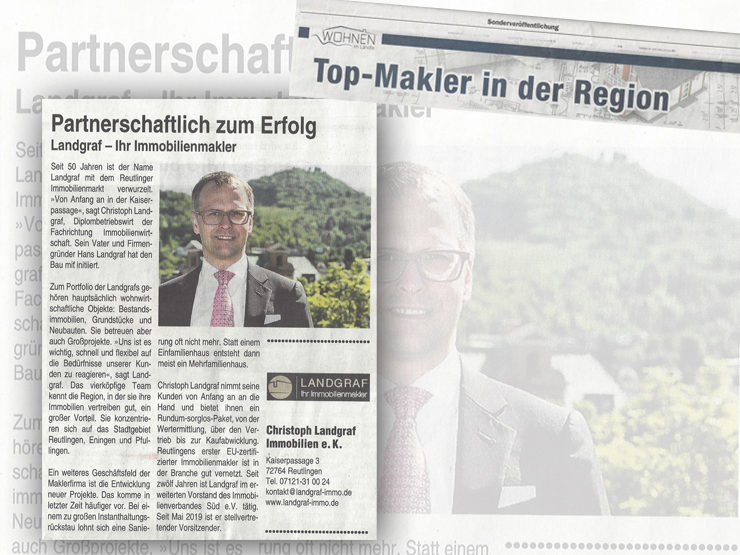 Top-Makler in der Region