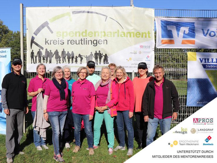 Wir sind begeistert. 19.631 Euro für die Region Reutlingen