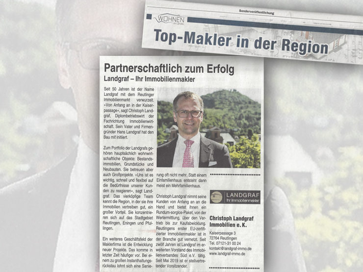 Top Makler in und um Reutlingen