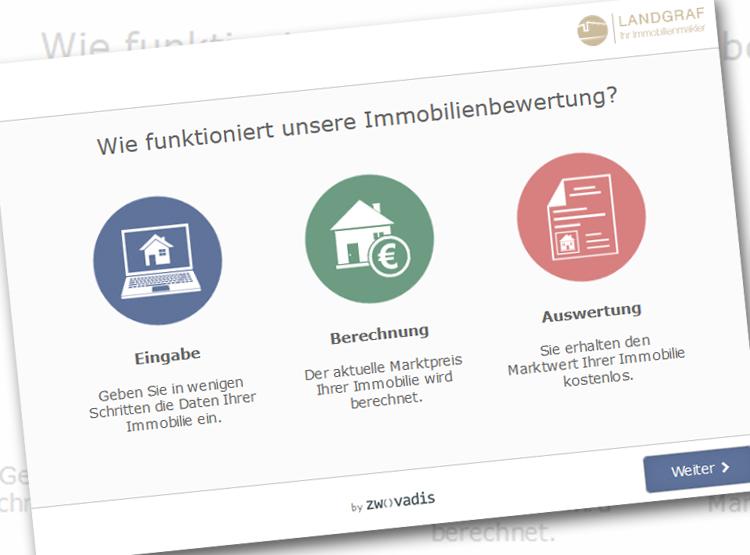Immobilienbewertung online bei Hans Landgraf Immobilien