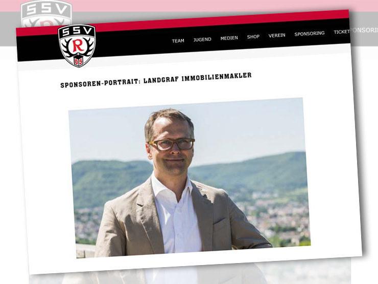 Unser Sponsoren-Portrait beim SSV Reutlingen