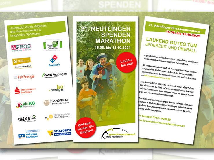 Reutlinger Spendenlauf vom 15.08. – 15.10.2021